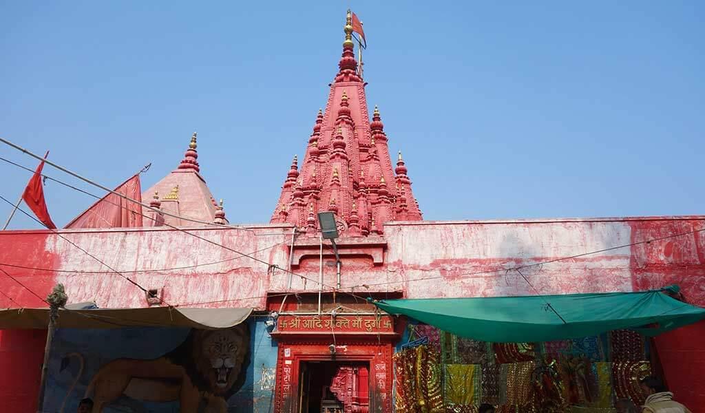 Храм богиня власти и защиты Дурга в Варанаси
