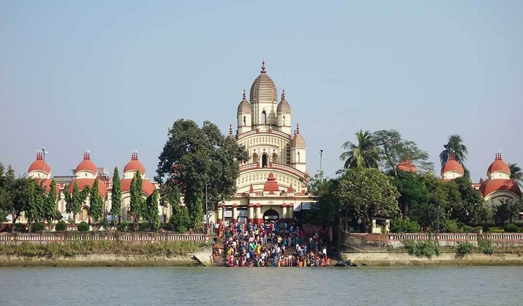 храм богини Кали Дакшинешвар Калькутта
