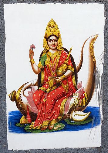 Богиня благополучия и изобилия Лакшми