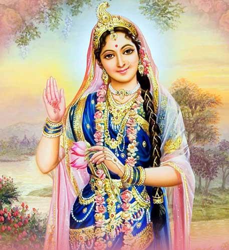 Богиня радости и неги Радха