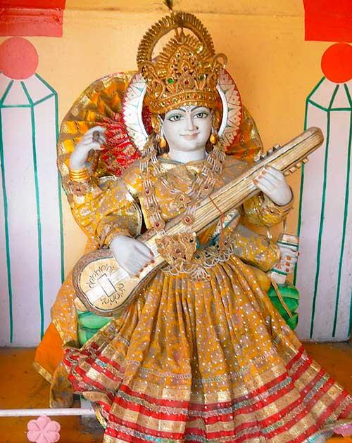 Богиня красоты и мудрости Сарасвати