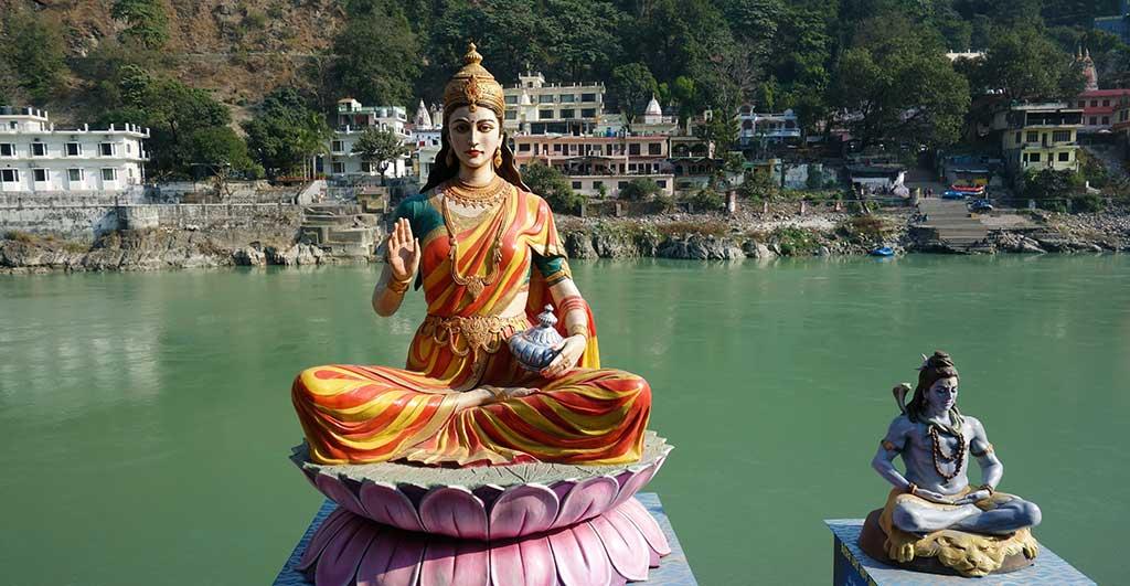 Великая Мать в Индии Ришикеш