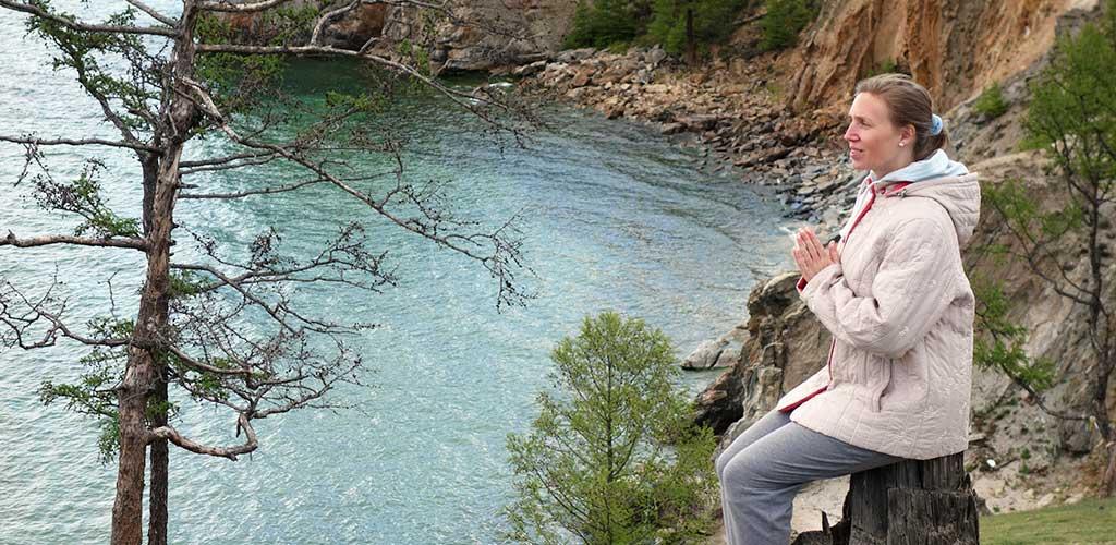 Медитация на берегу Байкала