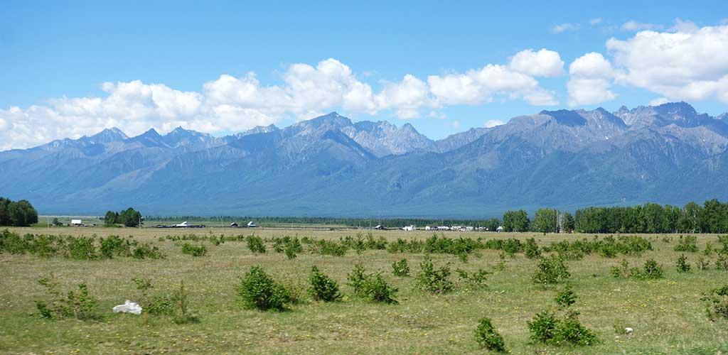 Саянские горы Тункинская долина Бурятия