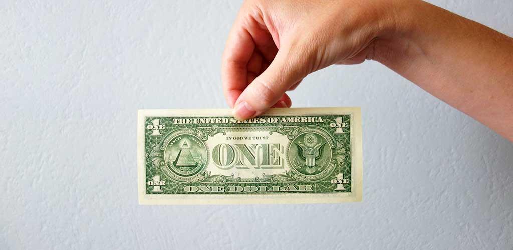 денежный талисман-доллар с Рейки для финансового благополучия