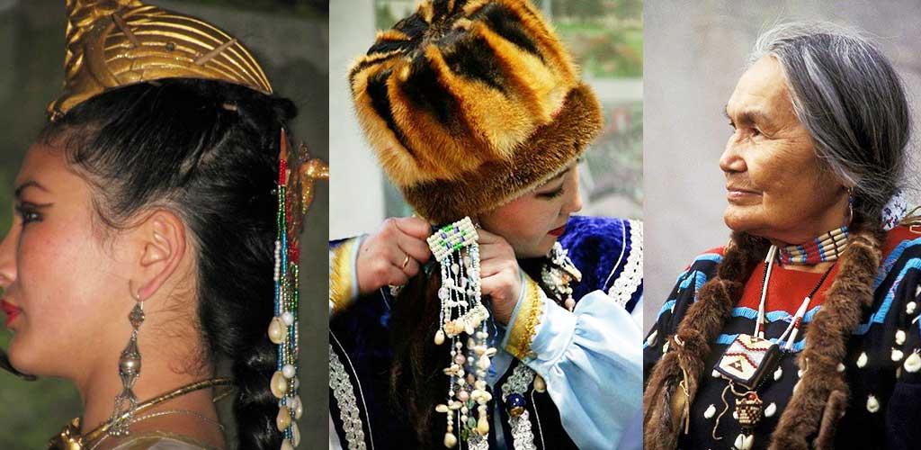 Ракушки каури в традиционных нарядах