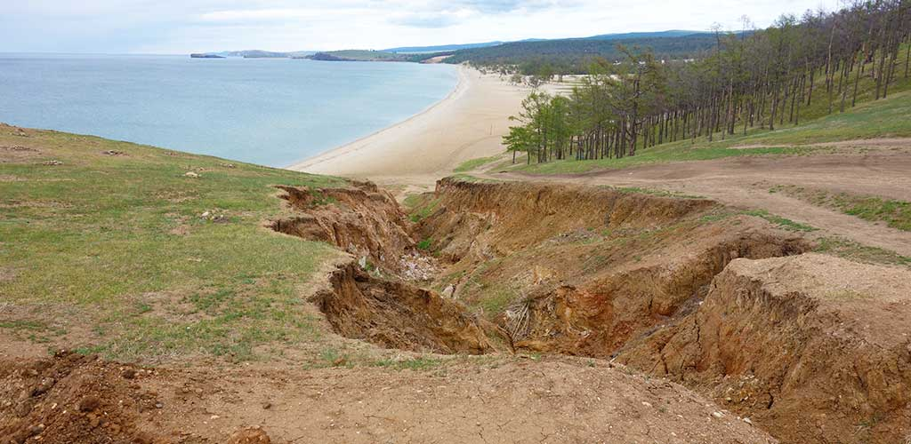 Овраг, остров Ольхон, Байкал