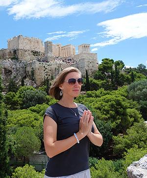 Афинский акрополь и Парфенон, храм Афины
