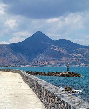 Набережная Ираклиона - столицы острова Крит