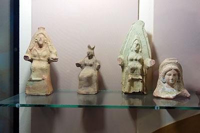 Статуэтки Верховной Богини древнего Боспора археологический музей Керчи