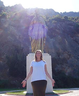 Статуя Богородицы Эфес Дева Мария несколько лет перед успением жила в Эфесе