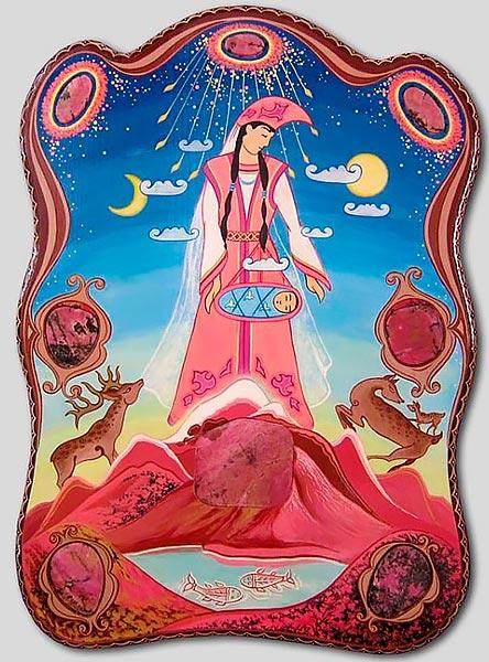 Богиня Умай