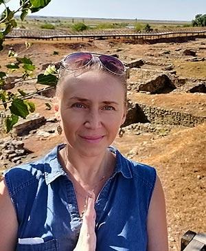 Руины античного города Танаис в округе проживали племена меотов Ростов-на-Дону