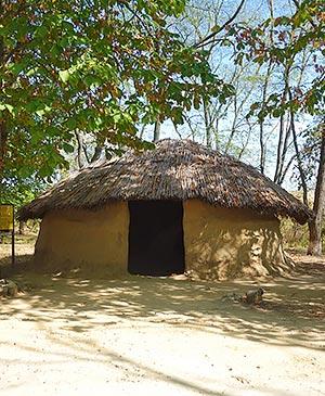 Реконструкция турлучного меотского дома сельская округа Танаис археологический музей-заповедник