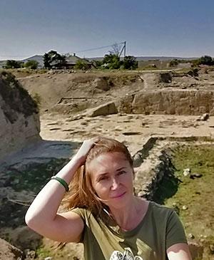 Руины древнего греко-синдского города Гермонасса, возникшего в VI веке станица Тамань